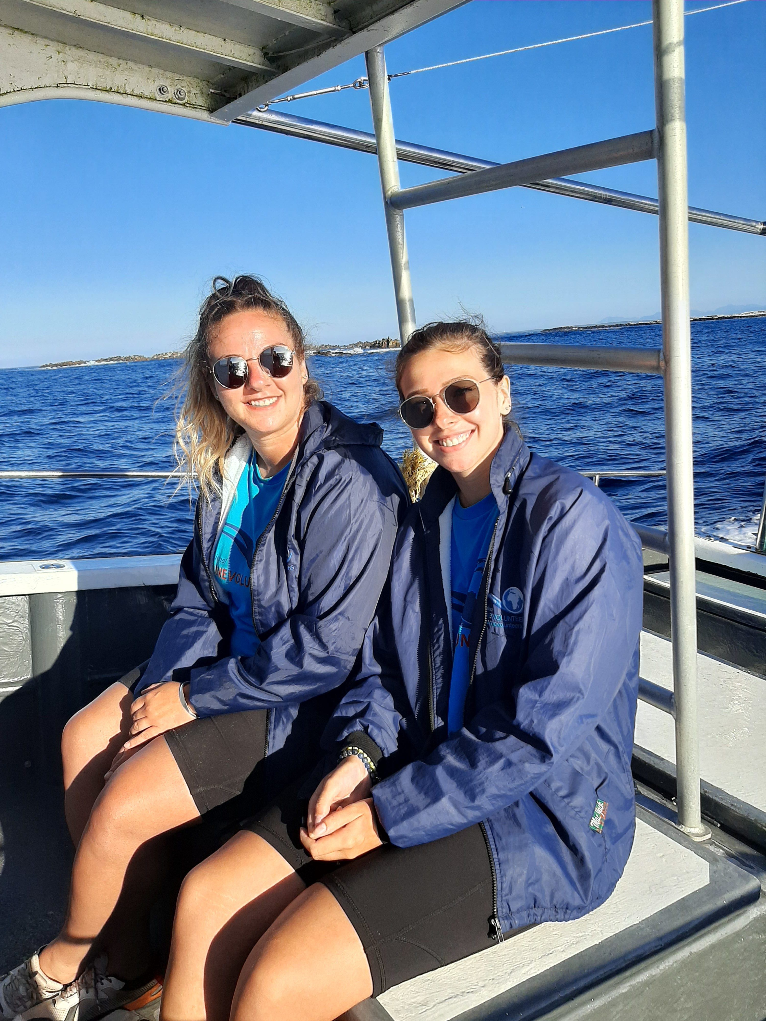 Volunteering sister duo shares their experience at the Marine Dynamics Academy