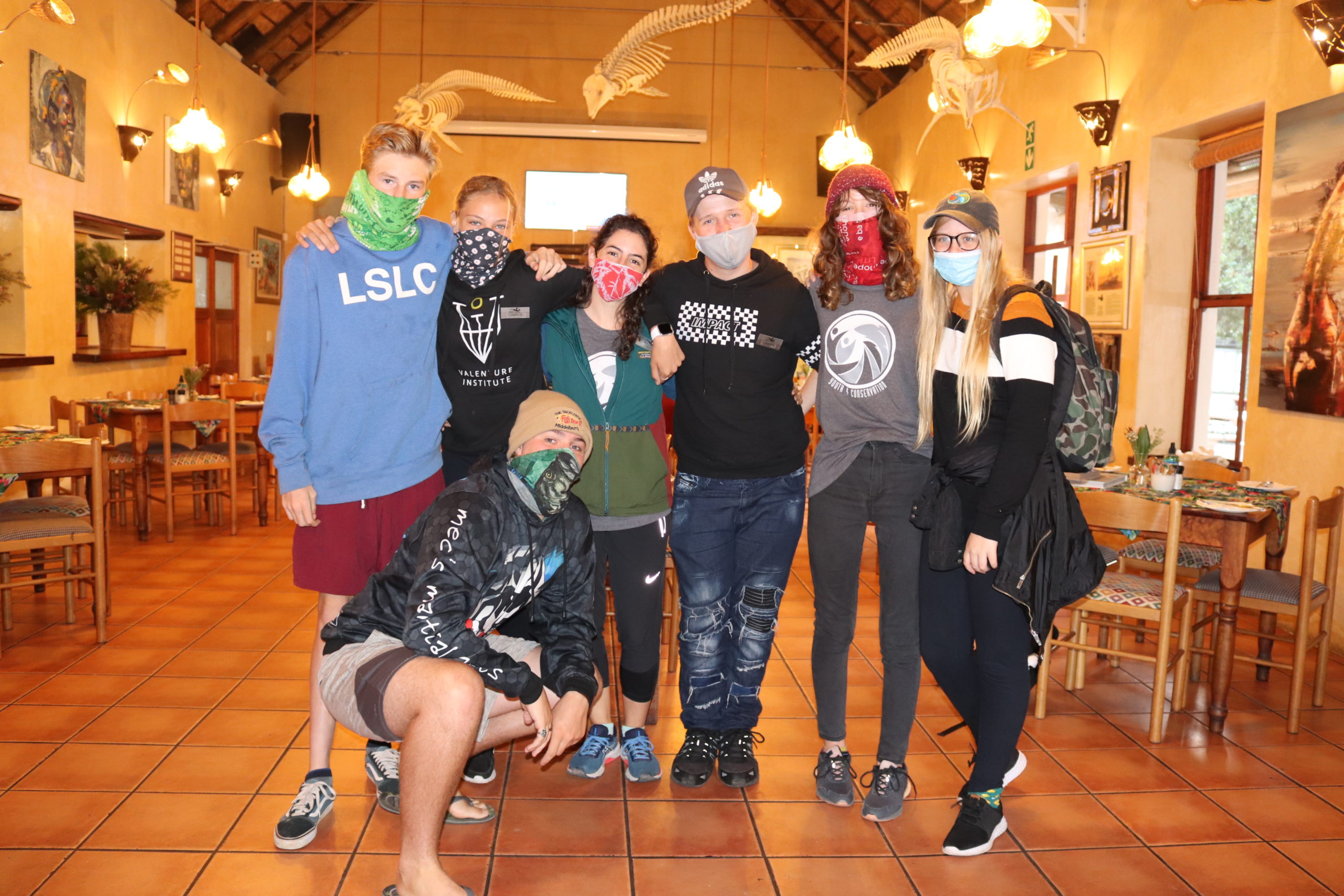 Marine Dynamics partner with Youth 4 Conservation for a marine conservation experience