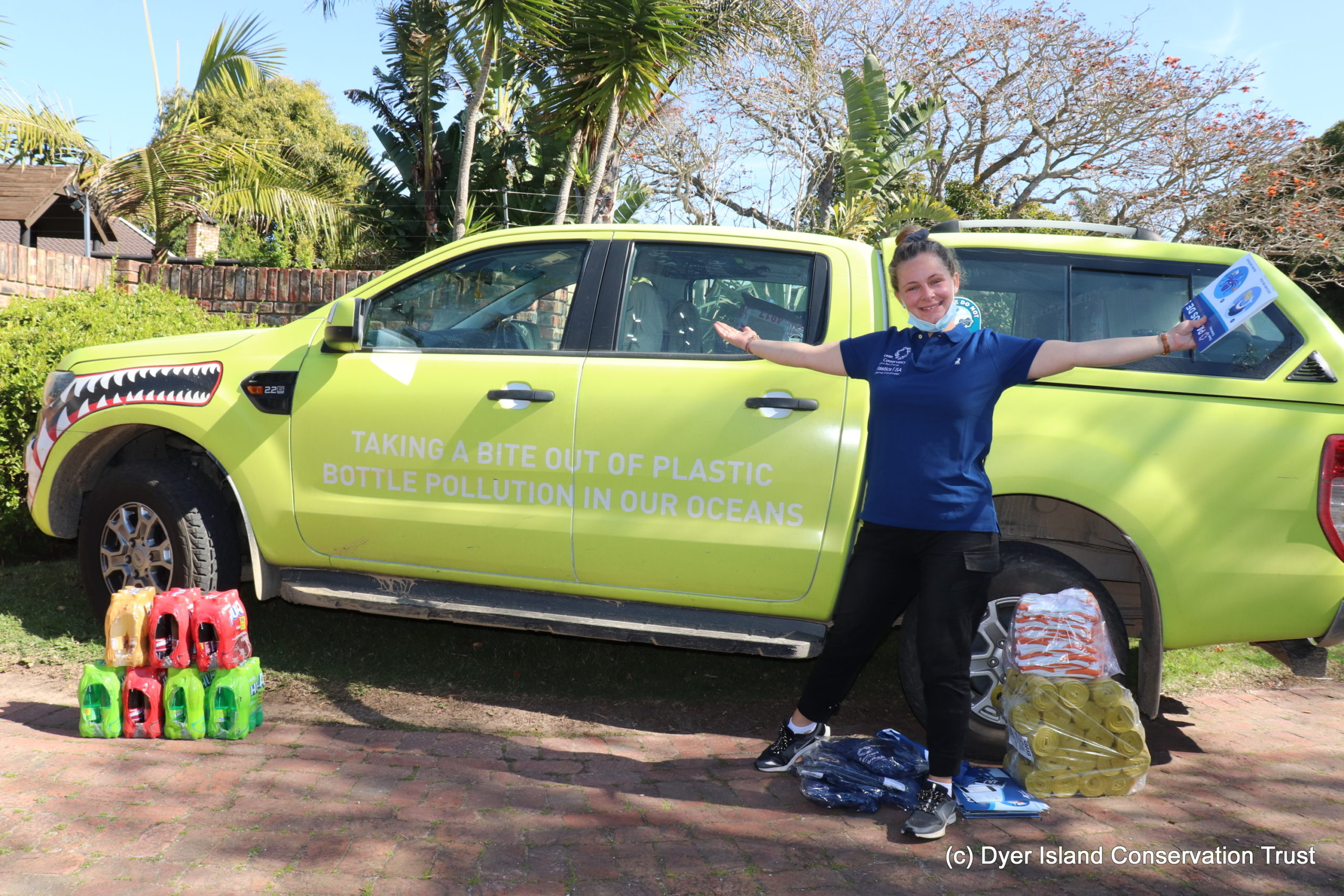 Nane AKA Charlie hits the road for marine pollution
